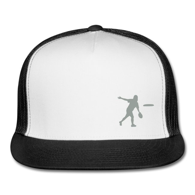 backhand silhouette hat