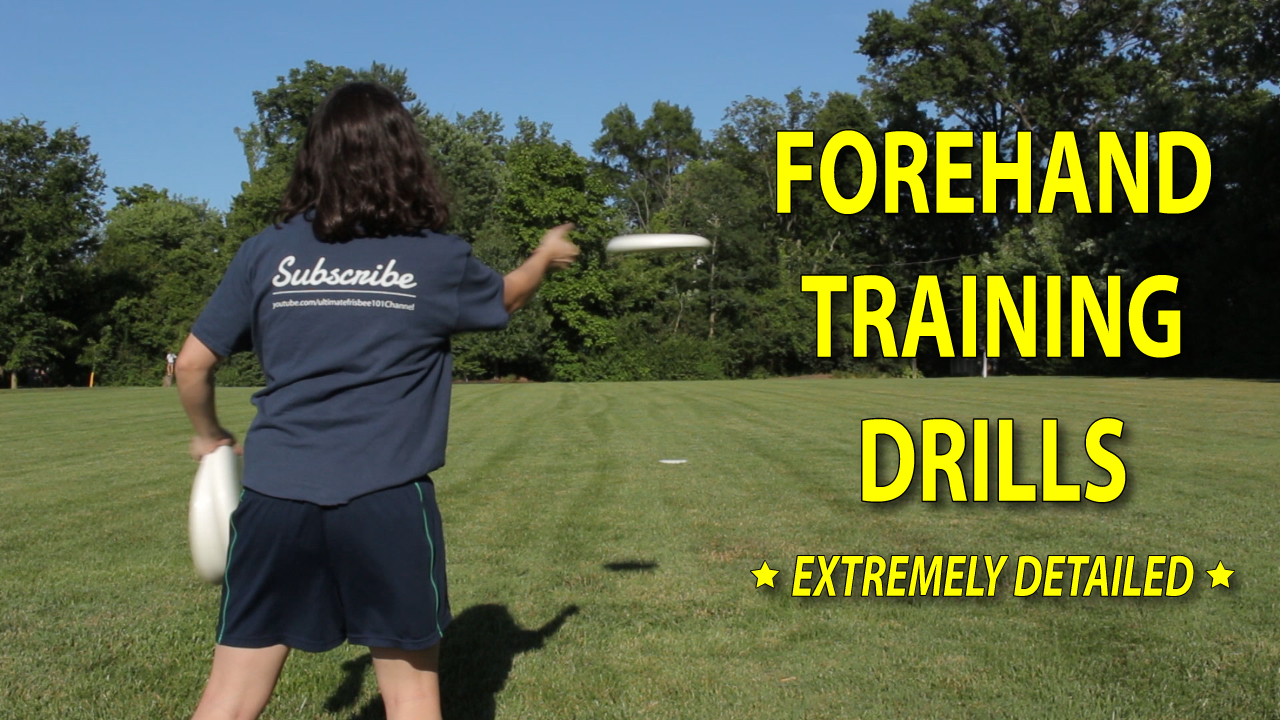 frisbee forehand training drills thumbnail
