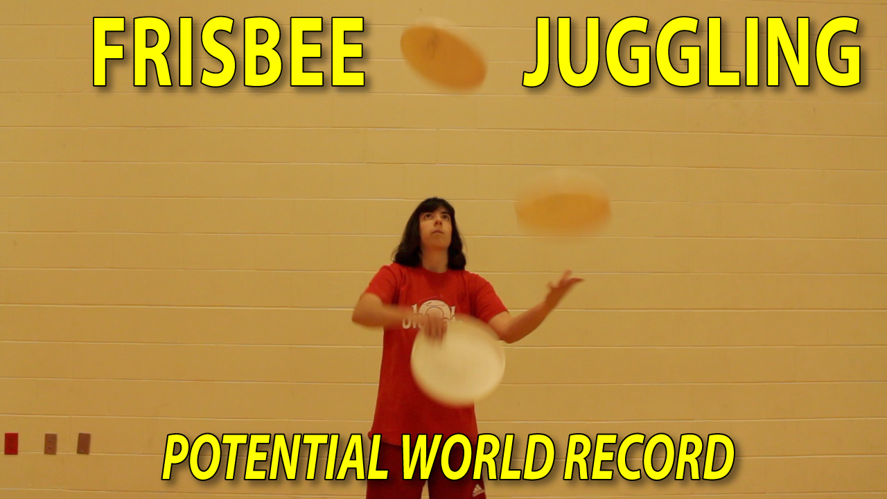 frisbee shower juggling trick thumbnail