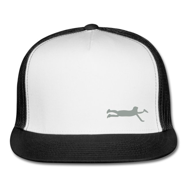 layout silhouette hat