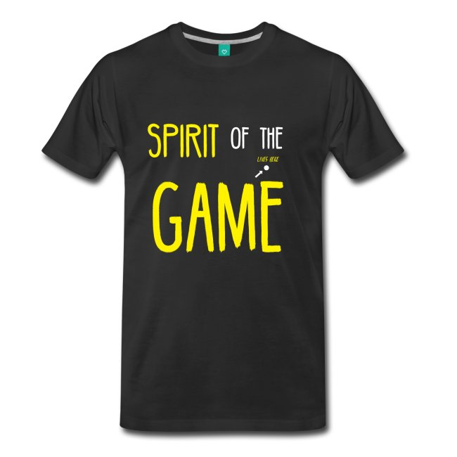 spirit of the game t-shirt