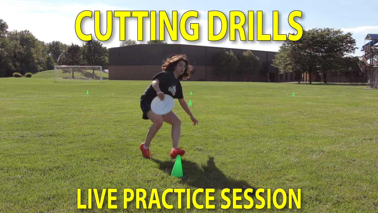 ultimate frisbee cutting drills thumbnail