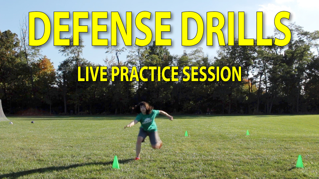 ultimate frisbee defense practice session thumbnail