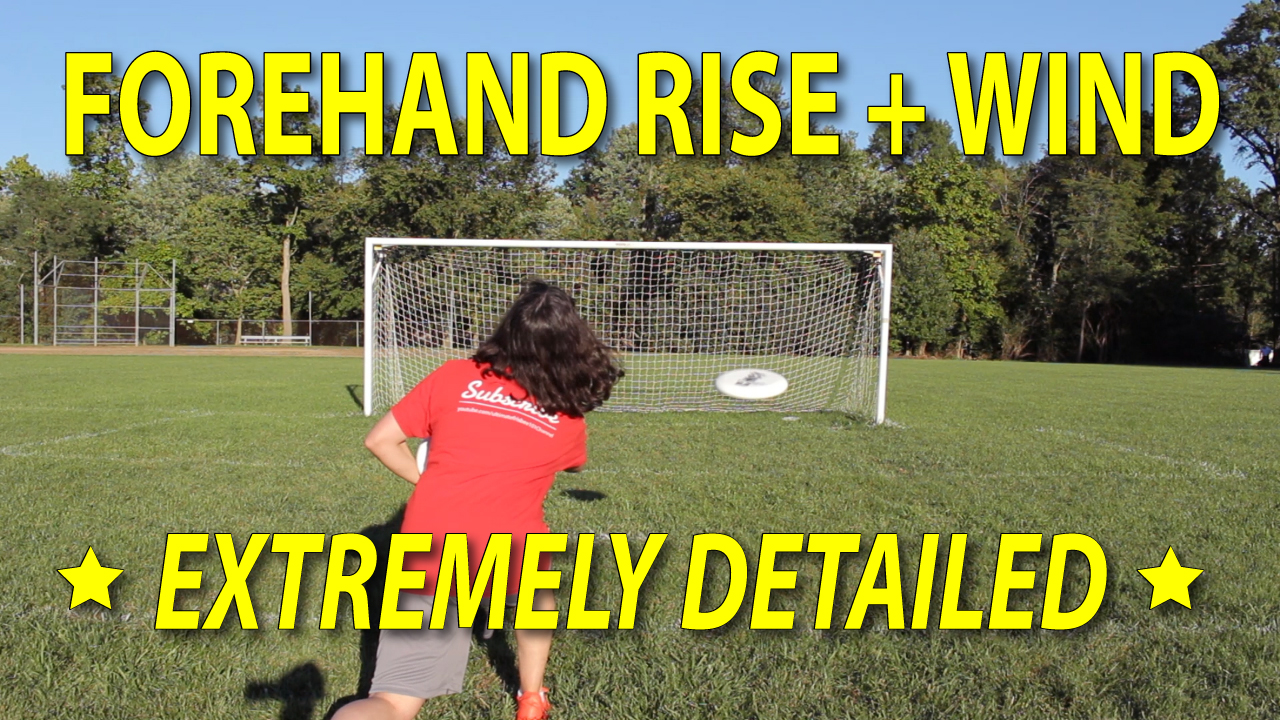 ultimate frisbee forehand rise thumbnail