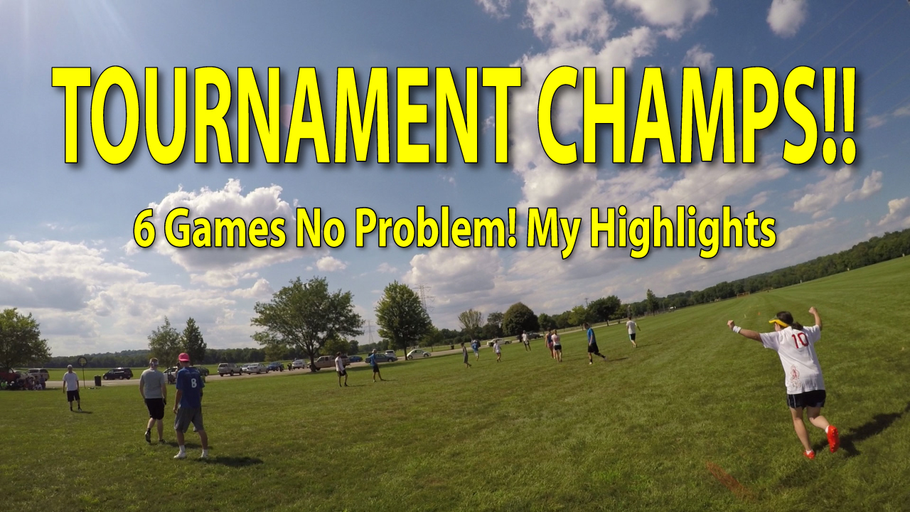 ultimate frisbee tournament highlights thumbnail