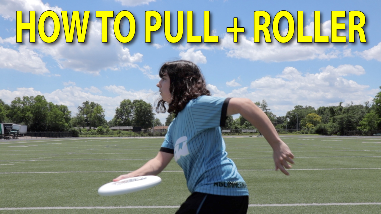 ultimate frisbee pulling thumbnail