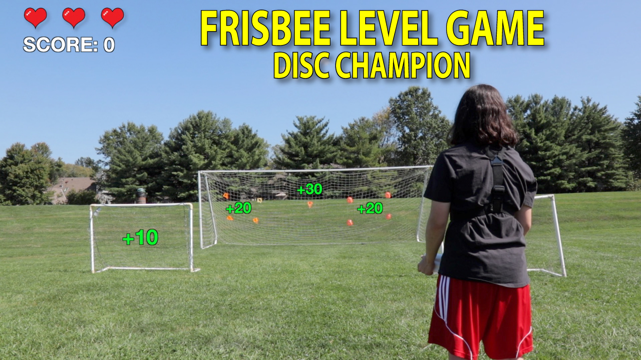 ultimate frisbee target practice game thumbnail